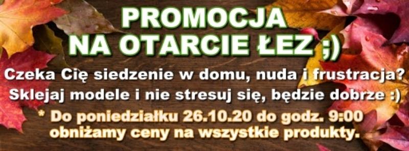 Promocja na otarcie łez - Październik 2020