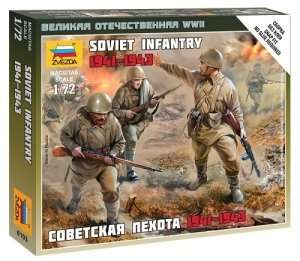 Zvezda 6103 Soviet infantry 1941-1943