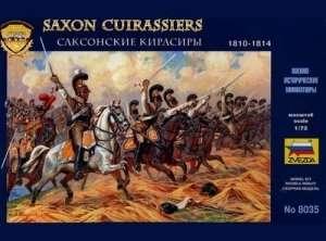 Zvezda 8035 Saxon Cuirassiers 1810-1814
