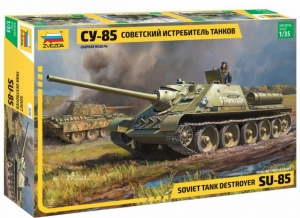 Model niszczyciela czołgów SU-85 Zvezda 3690