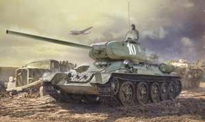 Italeri 6545 Czołg T-34/85 Zavod 183 Mod.1944 polska