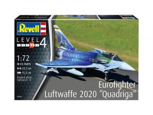 Revell 03843 Samolot Eurofighter Luftwaffe 2020 Quadriga model 1-72