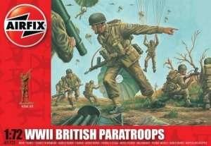 Airfix A01723 Figurki - WWII Brytyjscy spadochroniarze