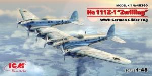 ICM 48260 Samolot He 111Z-1 Zwilling
