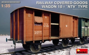 MiniArt 35288 Wagon typ 18t NTV skala 1-35