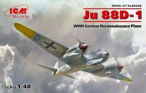 Model samolotu zwiadowczego Junkers JU 88D-1 ICM 48240