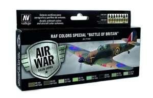 Vallejo 71144 Zestaw 8 farb - RAF Bitwa o Anglię