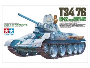 Tamiya 35049 Radziecki czołg T-34/76 1942 model 1-35