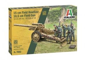 Italeri 7082 15 cm Field Howitzer / 10,5 cm Field Gun