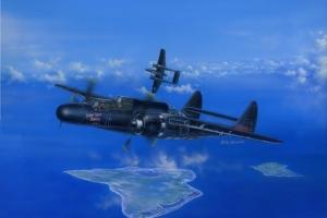Hobby Boss 81731 Samolot P-61B Black Widow model 1-48