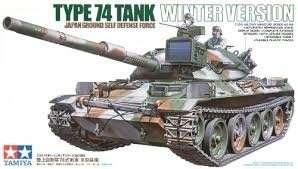 Tamiya 35168 JGSDF Type 74 Tank Winter Version