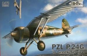 Samolot PZL P.24G - Greek Service IBG 72524