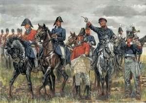 Italeri 6065 British & Prussian General Staff