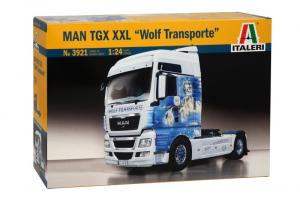 Italeri 3921 Ciężarówka MAN TGX XXL Wolf Transporte