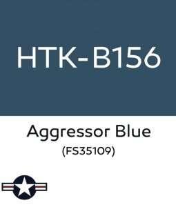 Hataka B156 Aggressor Blue - farba akrylowa 10ml
