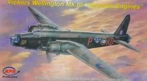 Średni bombowiec Vickers Wellington Mk.III - MPM 72542
