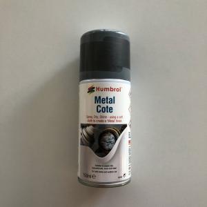 27003 Spray Metalcote Polished Steel 150ml Humbrol AD6996