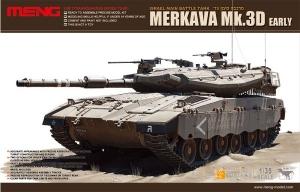Model wczesnej wersji czołgu Merkava Mk.3D Meng TS-001