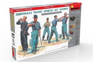MiniArt 35285 Niemiecka załoga czołgu podczas pracy