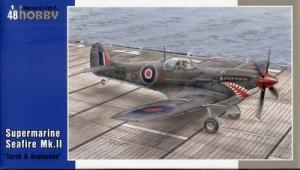 Myśliwiec Supermarine Seafire Mk.II Torch & Avalanche Special Hobby 48102