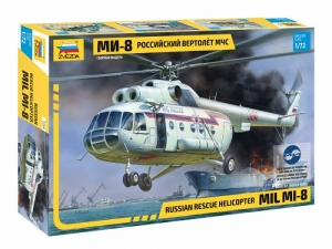 Zvezda 7254 Śmigłowiec Mil Mi-8 ratunkowy