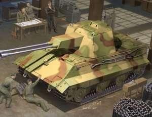 Trumpeter 01537 German E-50 Flakpanzer