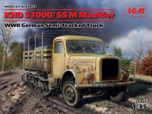 ICM 35453 Ciężarówka KHD S3000/SS M Maultier
