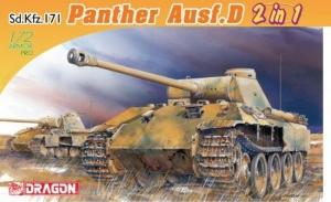 Dragon 7547 Czołg Sd.Kfz.171 Panther Ausf.D model 2 w 1