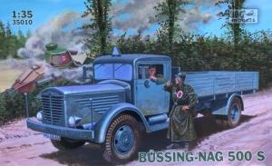 Ciężarówka Bussing-Nag 500 S IBG 35010