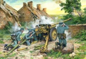 ICM 35801 Armata przeciwpancerna PaK 36 (r) z obsługą
