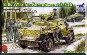 Sd.Kfz. 221 Leichter Panzerspahwagen - CB35033