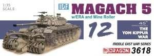 Dragon 3618 IDF Magach 5 w/ERA and Mine Roller