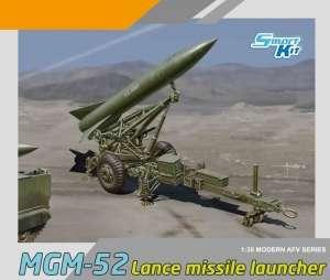 Dragon 3600 Pocisk balistyczny MGM-52 Lance wraz z wyrzutnią