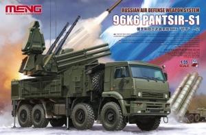 Model systemu przeciwlotniczego Model SS016 96K6 Pantsir-S1 Meng