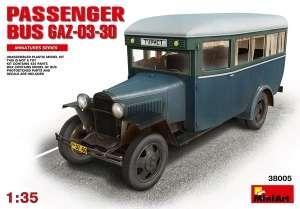 Model MiniArt 38005 autobus GAZ-03-30