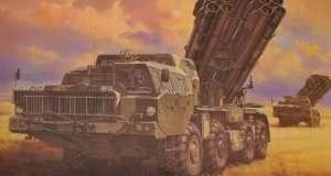 Meng SS-009 Wyrzutnia 9A52-2 Smerch