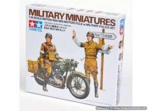 Tamiya 35316 British BSA M20 Motorcycle w/military police set