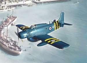 Italeri 2757 Samolot AD-4W Skyraider skala 1-48