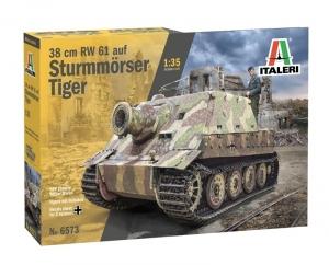 Italeri 6573 38 cm RW 61 na Sturmmorser Tiger