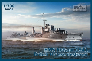 HMS Hotspur 1941 niszczyciel IBG 70009