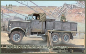 Ciężarówka Einheitsdiesel Pritschenwagen IBG 35003