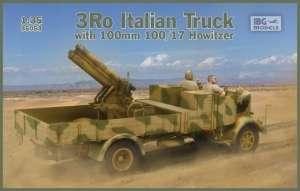 Ciężarówka 3Ro z haubicą 100mm 100/17 IBG 35053