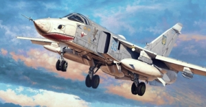 Trumpeter 01672 Samolot Su-24MR Fencer-E model 1-72