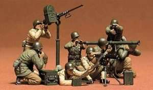 Tamiya 35086 U.S gun & mortar team