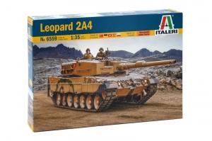 Italeri 6559 Czołg Leopard 2A4 polska kalkomania