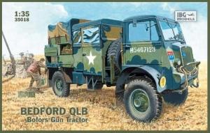 Ciężarówka Bedford QLB IBG 35018 skala 1-35