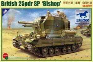Bronco CB35077 Samobieżna haubica 25pdr SP Bishop