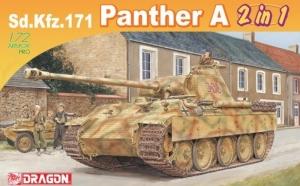 Dragon 7546 Czołg Sd.Kfz.171 Panther A model 1-72 2w1