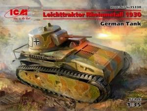Model lekkiego czołgu Leichttraktor Rheinmetall 1930 ICM 35330