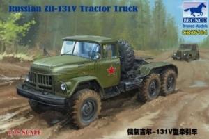 Bronco CB35194 Ciężarówka Zil-131V skala 1-35